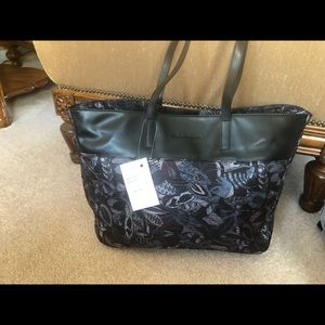 Ferragamo floral tote bag  new with tag